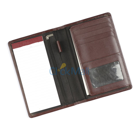 Sheikh Leather Dark Brown Long Leather Wallet SLC-XL-Long-01