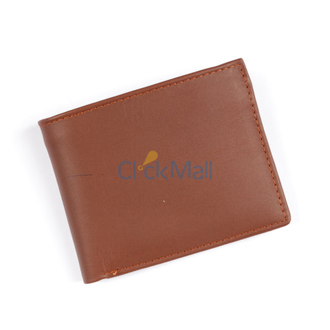 SL Brown Original leather wallet SLC-FC-Zip Buy 1 Get 1 Free