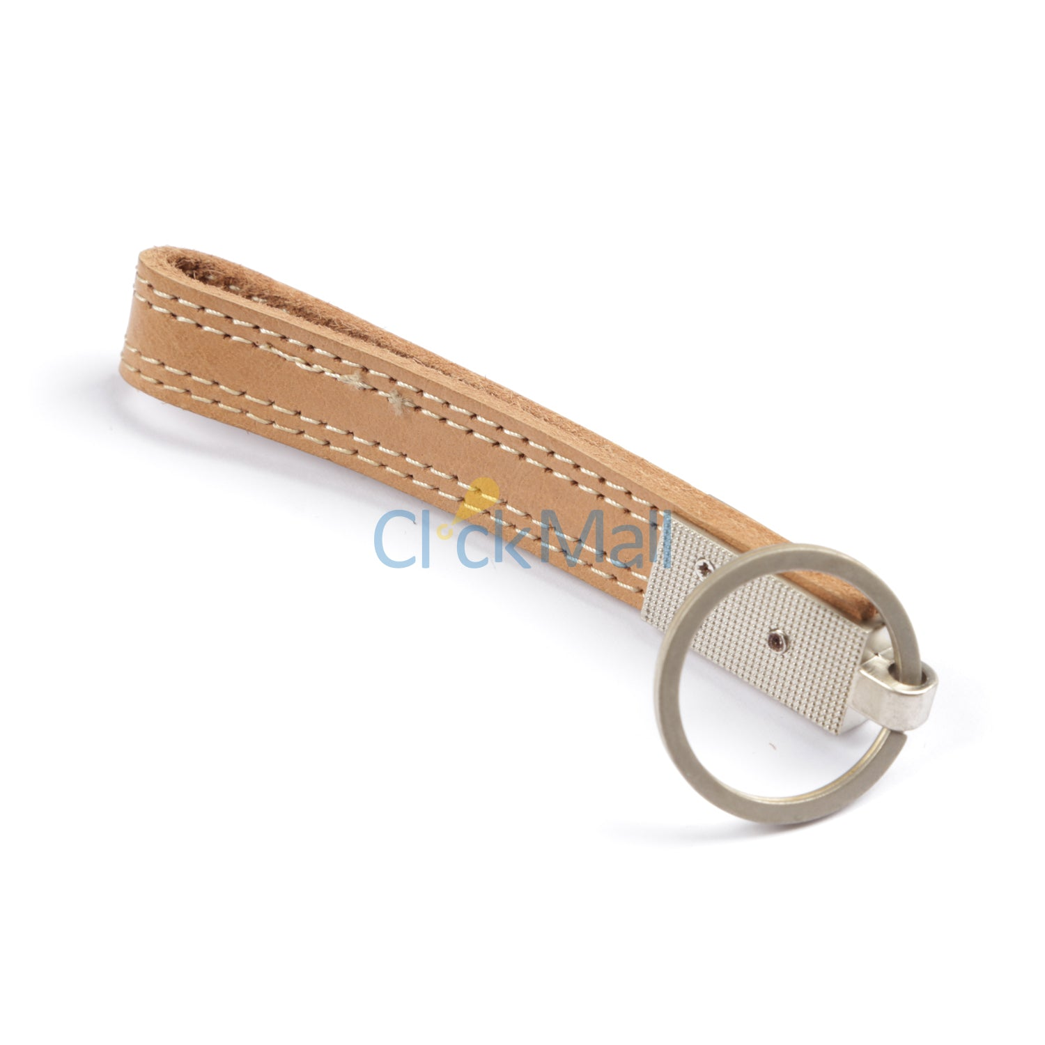 Sheikh Leather Leather Key Chain SLC-Oval-BL