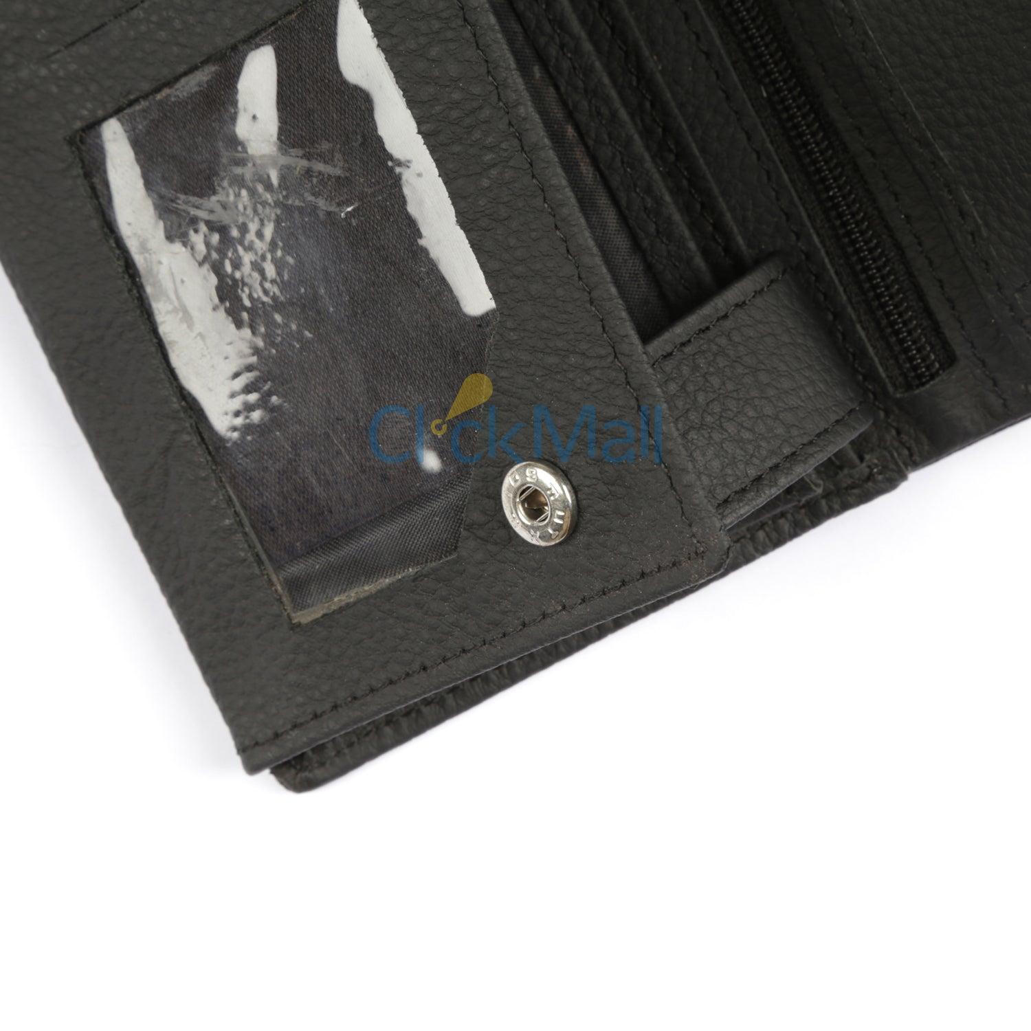 Sheikh Leather Black Leather Wallet-01 SLC-WA-Mild