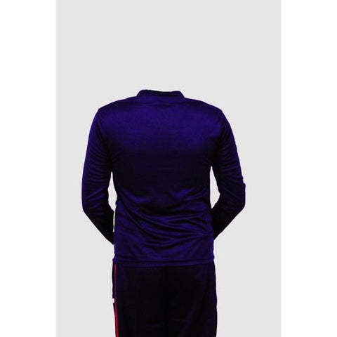 Asaan Sports Long Sleeve Fleece Sport Tshirt For Men And Women - Black