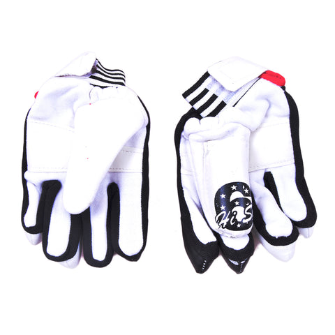Cricket Batting Gloves for Kids (For Children Under 14 Years, Cloth Material)-SP-356