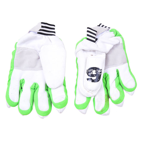 Cricket Batting Gloves for Adults (For 14+ Years Age, Cloth Material)-SP-358