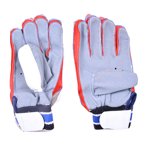 Cricket Batting Gloves for Adults (For 14+ Years Age, Long Lasting Leather Material)-SP-359