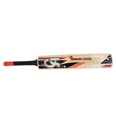 CA Vision 3000 Tape Ball Cricket Bat for Adults (34 Inch Length)  SP-448