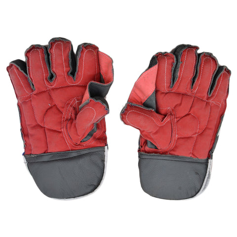 2 Pcs Power Football Goal Keeper Gloves - Grey - SP-510