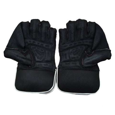2 Pcs Puma Football Goal Keeper Gloves - Black - SP-511