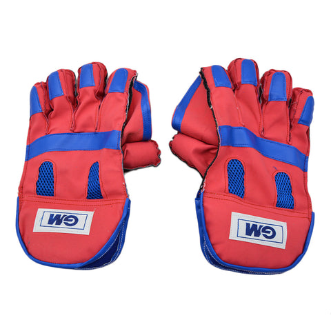 2 Pcs GM Football Goal Keeper Gloves - Red - SP-512