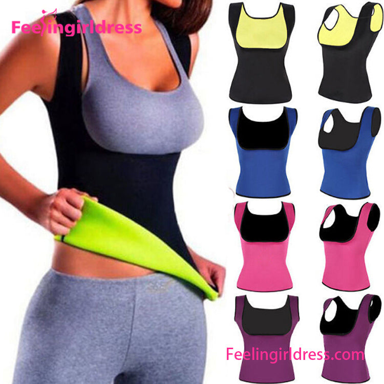 Slim Neoprene Sweat Vest Women's Tummy Control Body Shapewear
