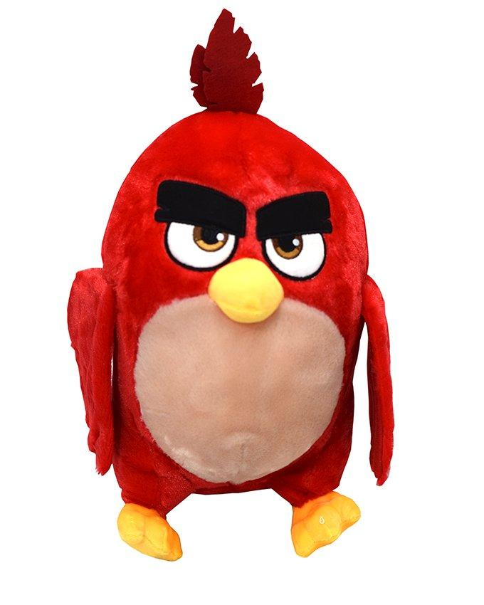 Angry Bird Stuffed Toy - Red