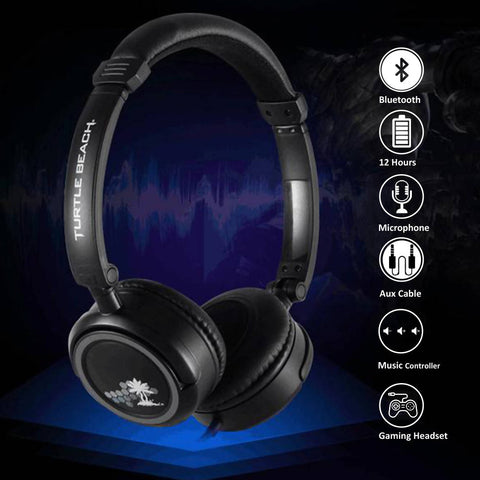Turtle Beach Ear Force M3 Silver Gaming Headset with mic