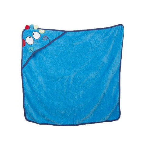 Novelty Towel For Baby Washing Sensitive Skin - 30x30 Inch - 100% Cotton - Blue