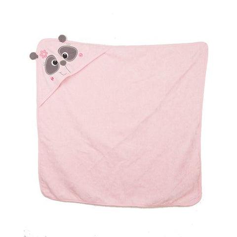 Novelty Towel For Baby Washing Sensitive Skin - 30x30 Inch - 100% Cotton - Pink