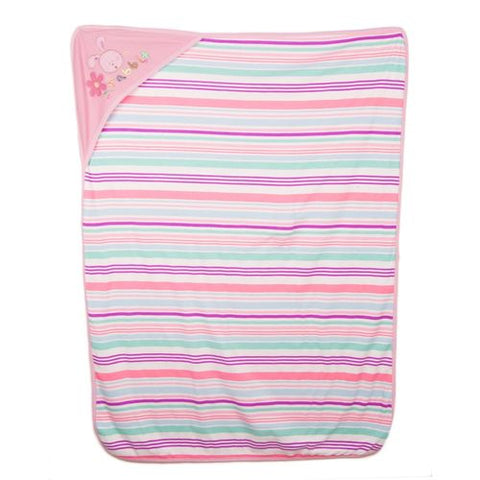 Newborn Infant Wrapping Sheet Bath Towel pure cotton - Pink