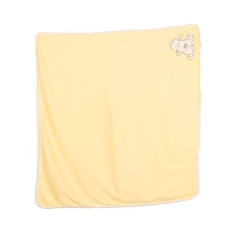 Wrapping Sheet Bath Towel For Newborn Infants - Yellow