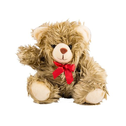 High Quality Hairy Stuffed Teddy Bear For Her - 22 Inch - Golden