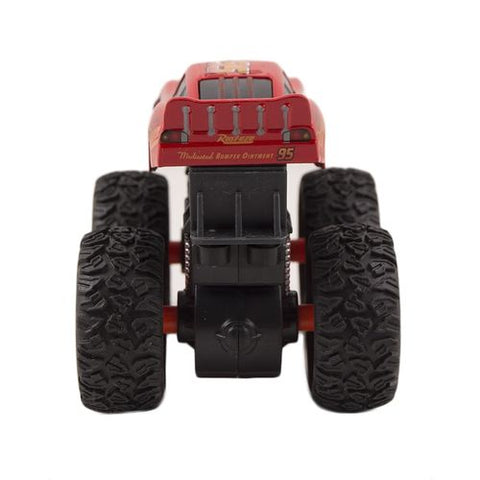 High Quality Pull Back Hotwheels Tracktor - 3.5 Inch - Red