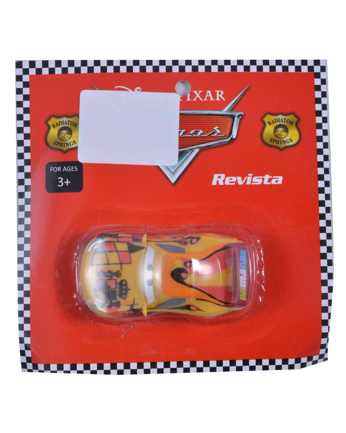 Good Quality Pull Back Car Figure Toy For Kids - 2.5 Inch - Yellow