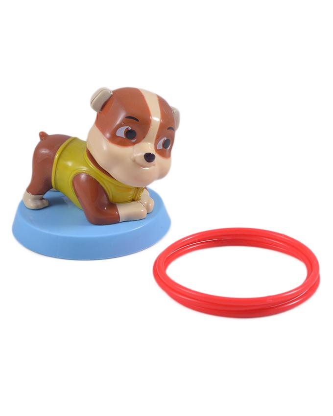 Good Quality Paw Patrol Figure Toy Series Toy (with Rubble Throwing Rings)