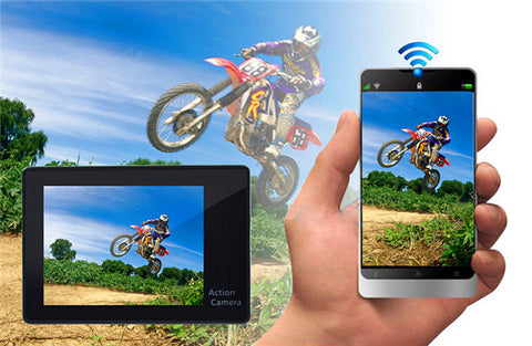 Action Sports Camera WiFi