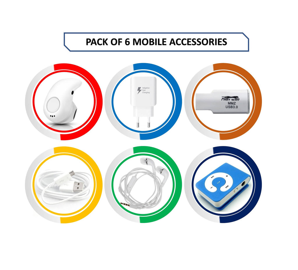 Pack of 6 Mobile Accessories