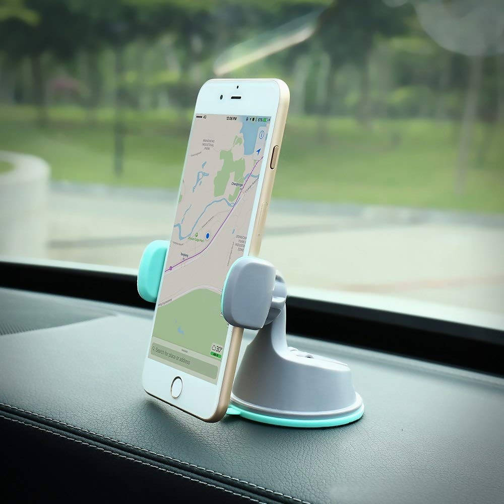 Car Mobile / Tab Holder - All Purpose 360 Rotation Universal Stand - 2482