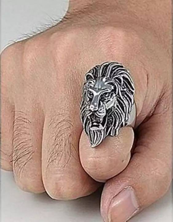 Lion Face Ring For men