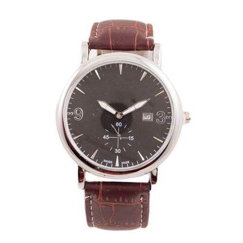 Choronograph Watch For Men Brown W-103