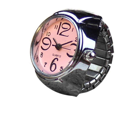 Creative Alloy Finger Ring Watch