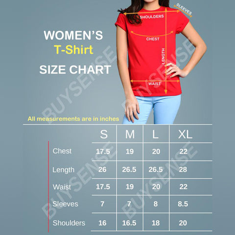BuySense Yellow Spongebob Printed T-Shirt For Women