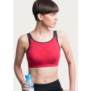 HIGH IMPACT DUAL LAYERED SPORTS BRA – RED