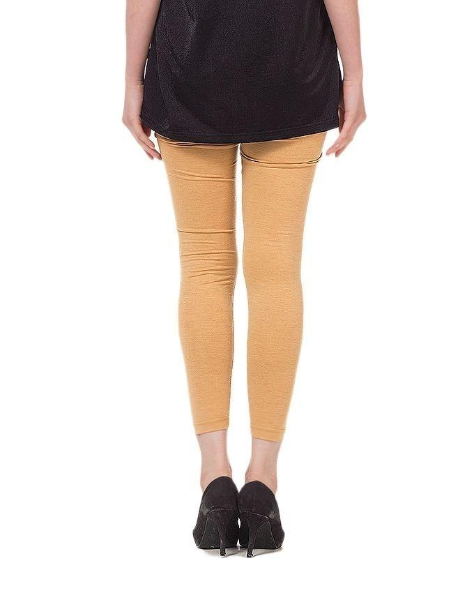 Beige Viscose Tights For Women