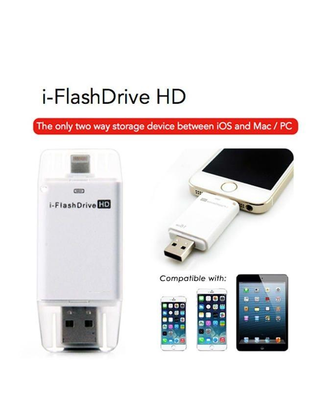 Electrotech i-Flash Drive HD Micro SD Card Reader For iPhone 6 / iPad / iPod