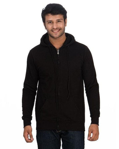 Pack Of 2 Charcoal/Black Zipper Hoodies For Men. SS-60