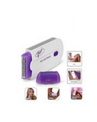 Hair Removal Shaver For Face Body - White & Purple