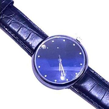 Blue Dial Wrist Watch For Men-Wrist Watch Blue 2