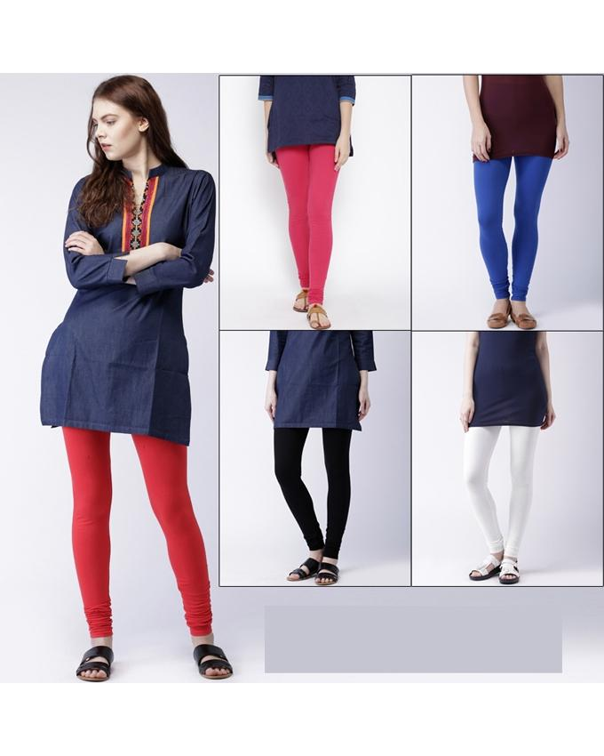 Pack of 5 High Quality Cotton Tights. (15 Colors). CHD-110
