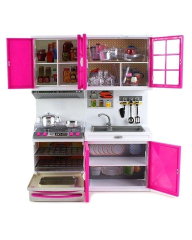 Modern Kitchen  Set for Girls - Multicolor