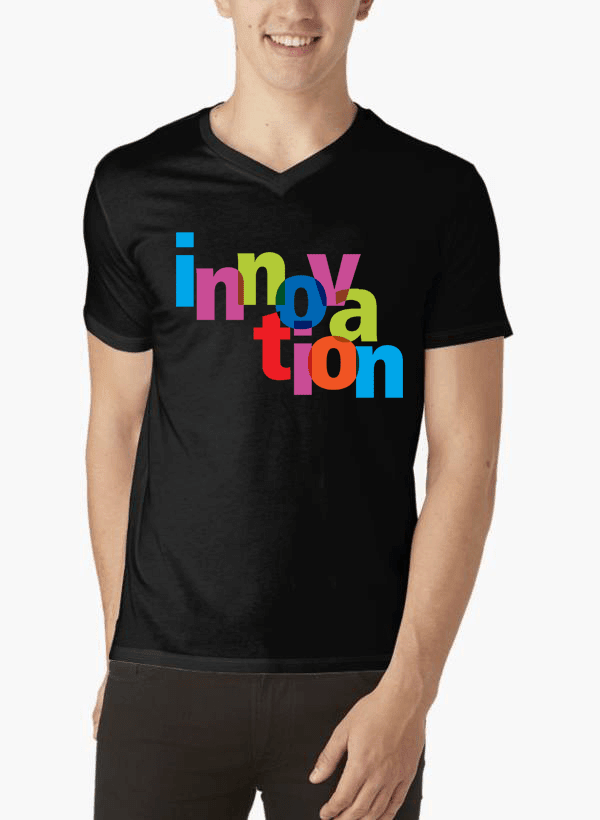 Virgin Teez Innovation V-Neck T-shirt