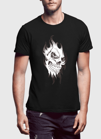 Virgin Teez Skull Sketch Tank Top