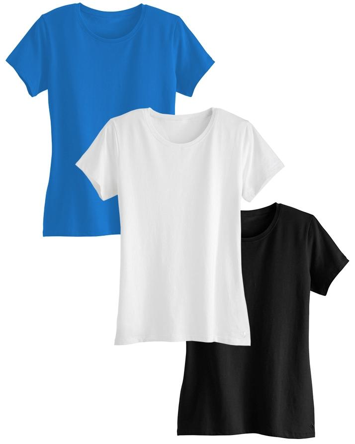 Pack of 3 Multicolor Boyfriend T-Shirt For Women