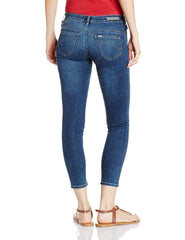 Medium Blue Slim Fit Jeans For Women