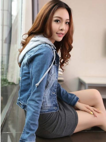 Moodish Women Denim Jacket WDJ