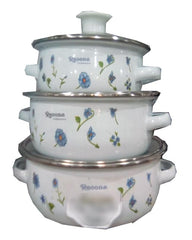 Food Storage Containers - Bowl Sets- 3 Pcs Set