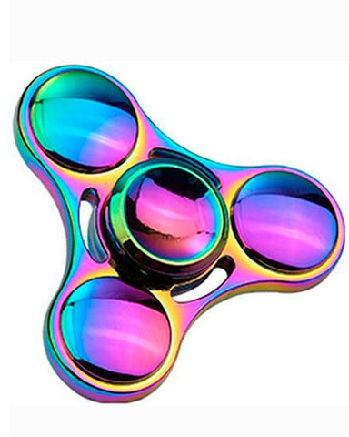Electrotech Spinner-Fast Metal & Famous Metal Hand Spinner- Chrome