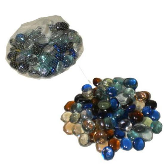 Pack of 2 - Box Glass Gems - Multicolor