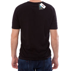 Teemoji 420 black tee with finger notation