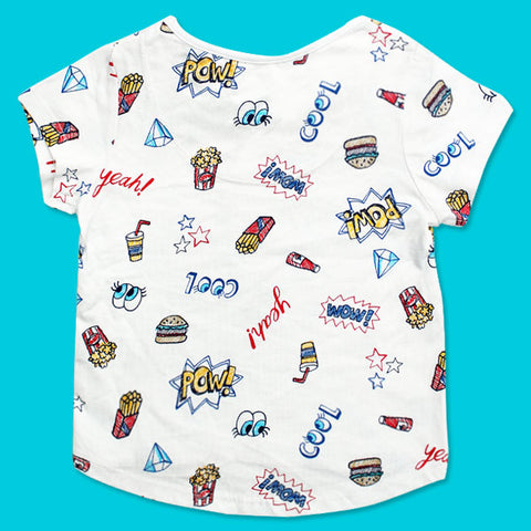Expostore Girls t-u t-Shirt C-1-25