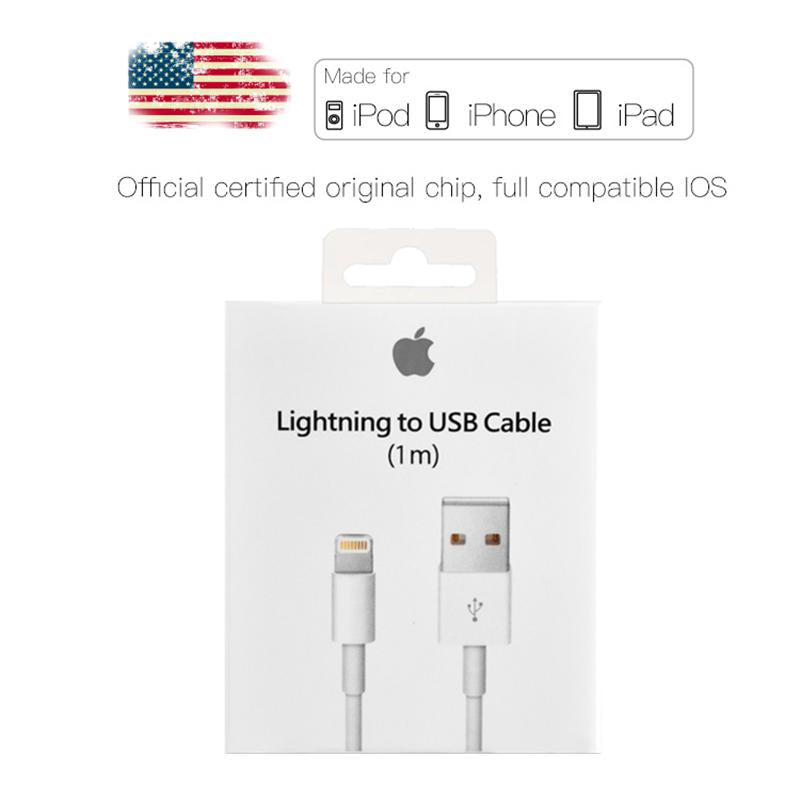 USB Charging Cable Original Chip Data Sync Cable for iPhone