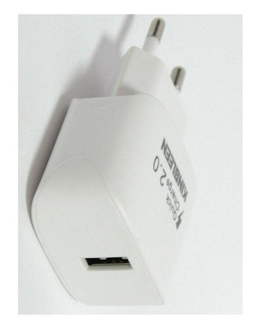 C868 - Quick Charger 2.0 Single USB Battery Charger - White